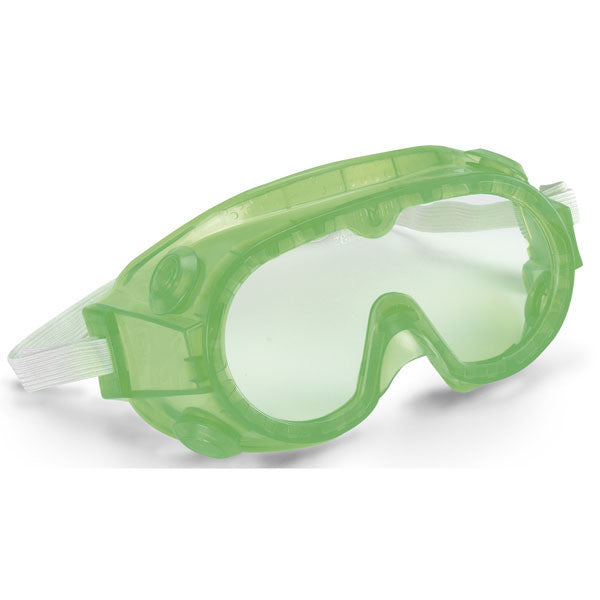 "Elementary Splash Goggles - 5"" Fluorescent Green"