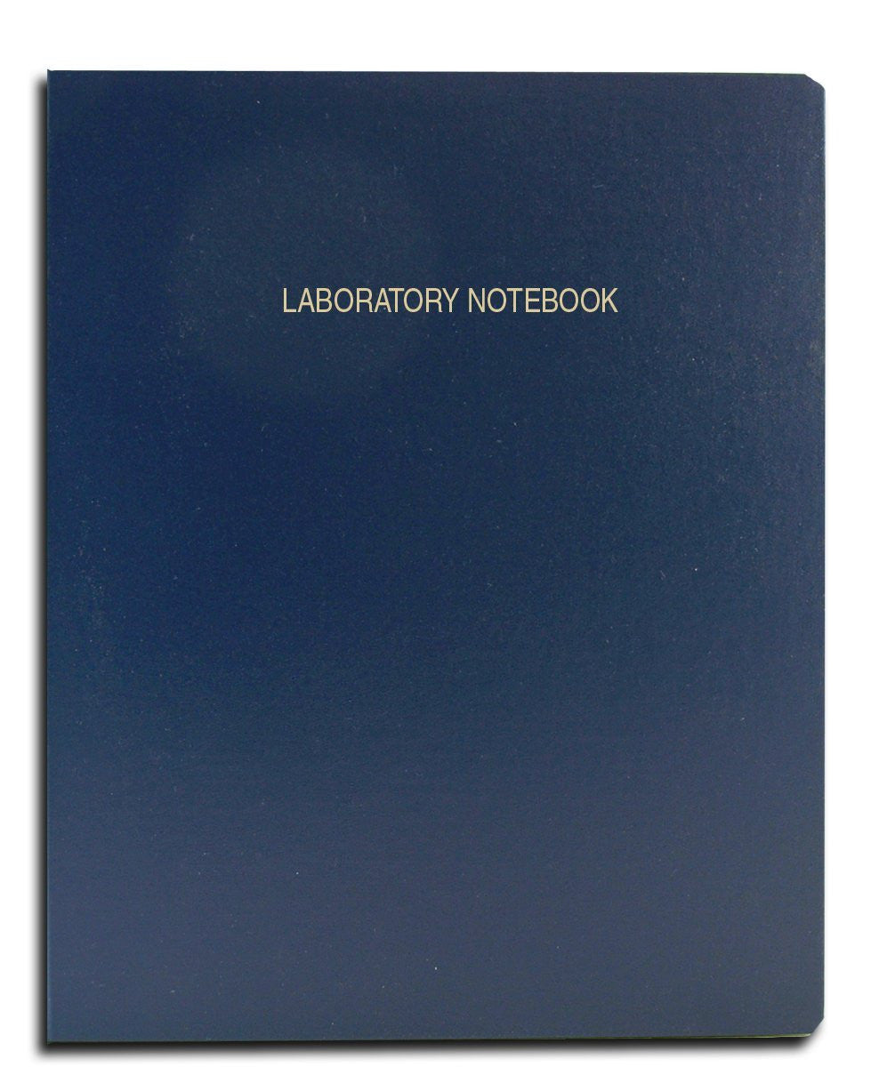Large Economy Scientific Ruled 96 Page Notebook  (Blue) - The Science Shop - 1