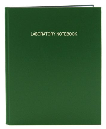 Large Economy Scientific Grid 96 Page Notebook (Green) - The Science Shop - 1