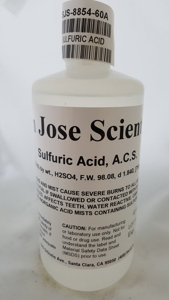 Sulfuric Acid 95-98% 500ml