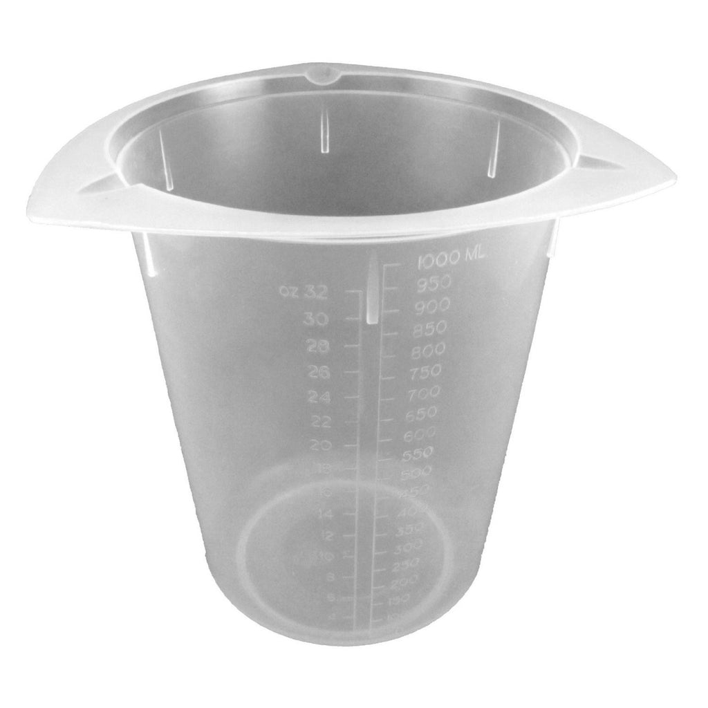Beaker, Polypropylene ~ Tri-Cornered 400mL