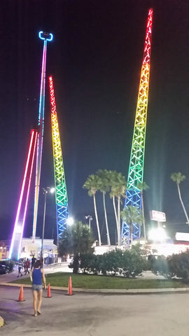 Slingshot at Magical Midway