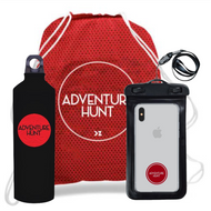 AH Bundle: Daypack + Bottle + Waterproof Phone Pouch