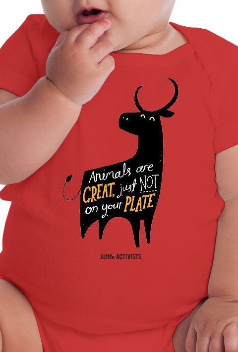 Little Activists - Animals are Great - Infant All-in-One