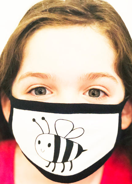 Bee the Light - Kid's Face Mask