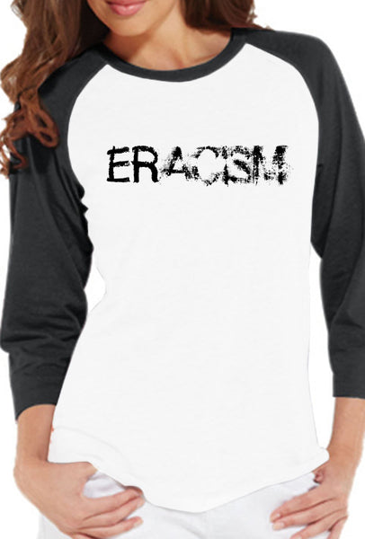 Eracism - Women's Baseball T-Shirt