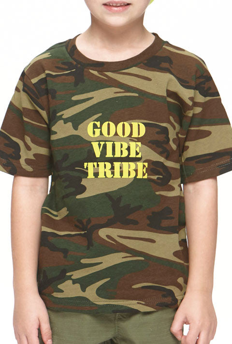 Good Vibe Tribe - Youth Camo