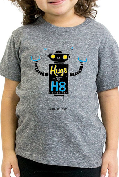 Hugs Not H8 - Toddler T-Shirt