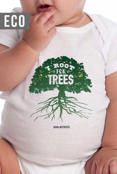 I Root for Trees - Infant Organic Onesie