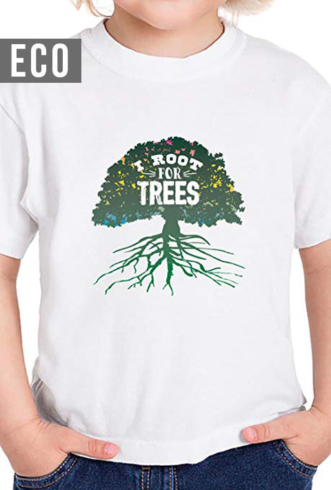 I Root for Trees - Toddler Organic T-Shirt