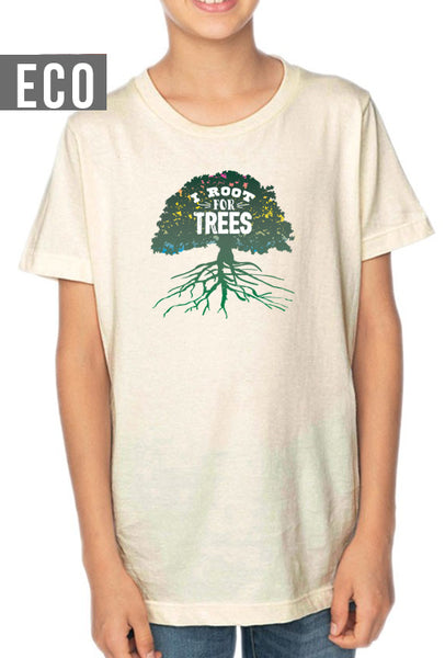 I Root for Trees - Youth Organic T-Shirt