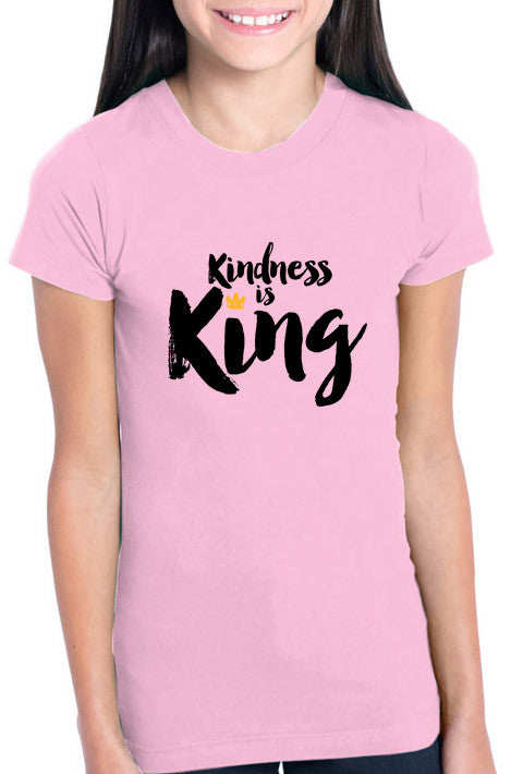 Kindness is King - Girl's T-shirt