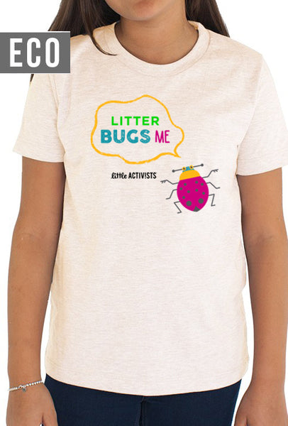 Litter Bugs Me - Youth Organic T-Shirt