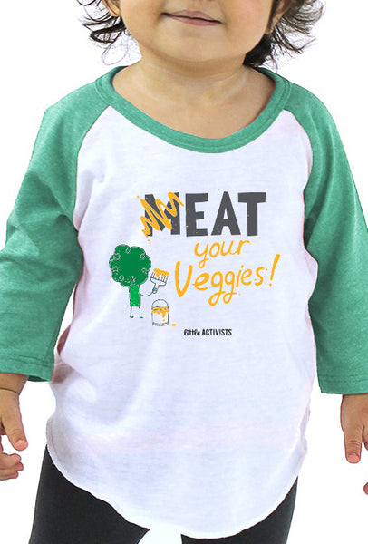 M-eat Your Veggies - Infant Baseball