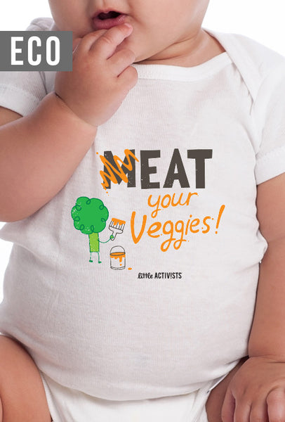 Meat Your Veggies - Infant Organic Onesie