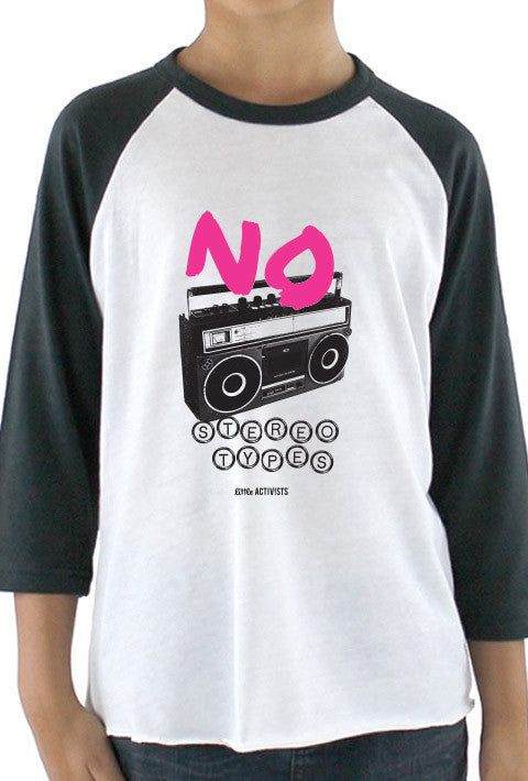 No Stereotypes - Youth Baseball T-Shirt