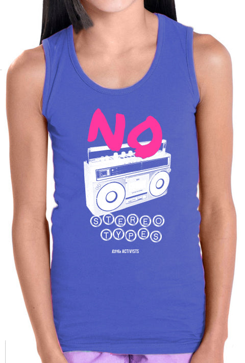No Stereotypes - Girl's Tank