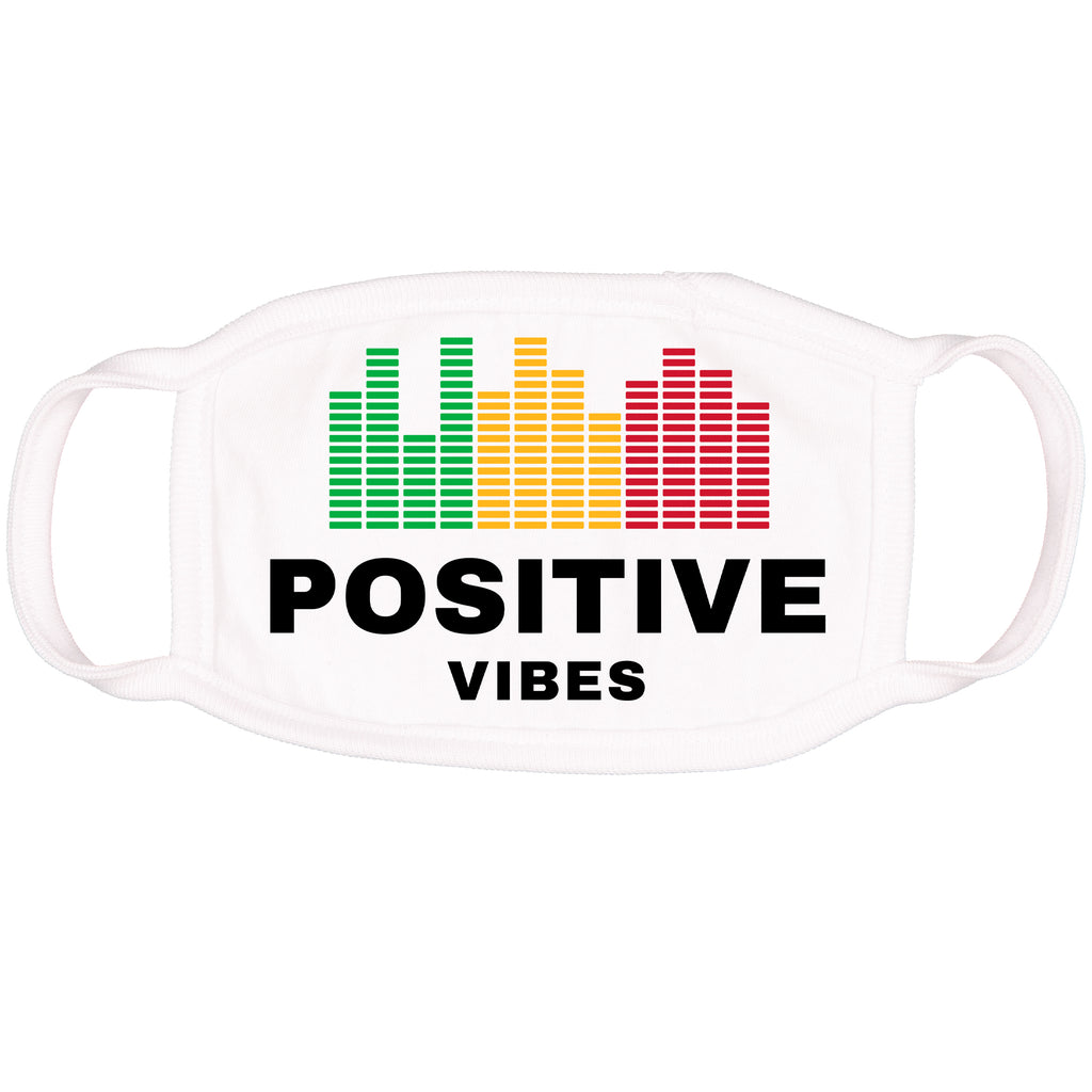 Positive Vibes - Kid's Face Mask