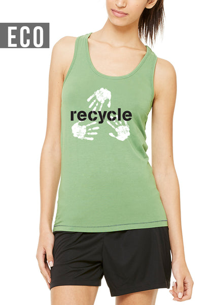 Recycle - Women's Bamboo Racerback Tank