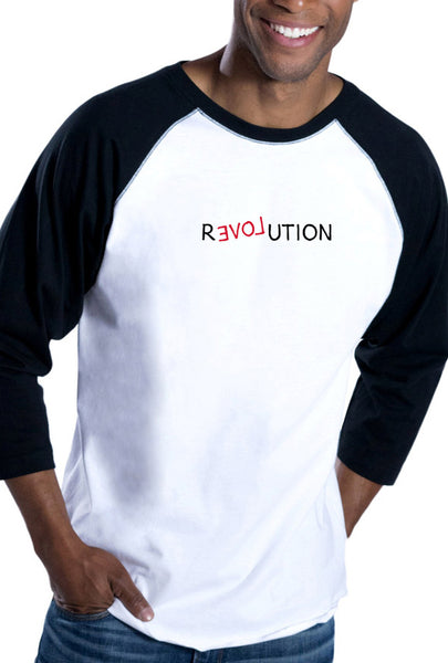 Revolution - Men's Baseball T-Shirt