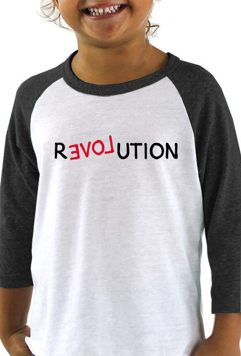 Revolution - Toddler Baseball T-Shirt