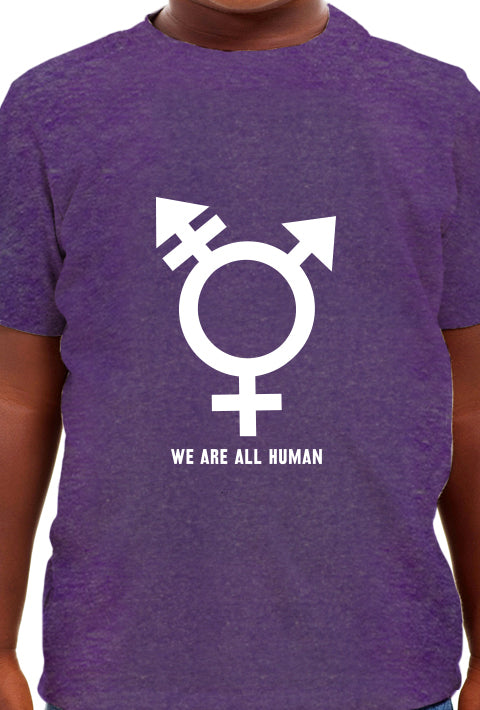 We are All Human - Youth T-Shirt