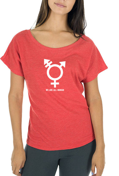 We Are All Human - Women's T-Shirt