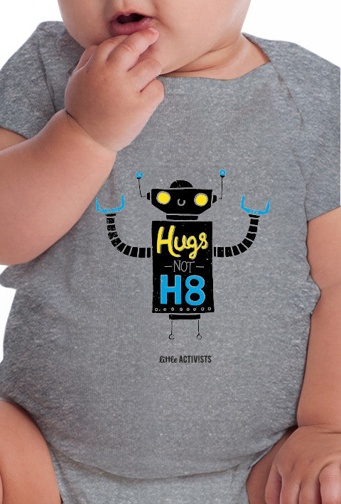 Hugs Not H8 - Infant Onesie