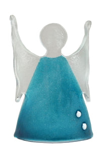 Angel Stand Aqua With Spots