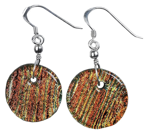 Dichroic Earing Copper Lines