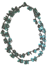 Load image into Gallery viewer, Glass Beads  Necklace Rings Multicolors  Black Green