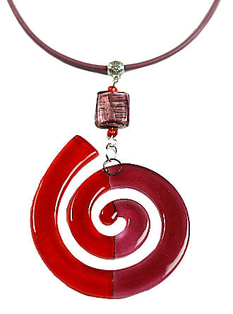 Calypso Classic a Red Rose Spiral Design