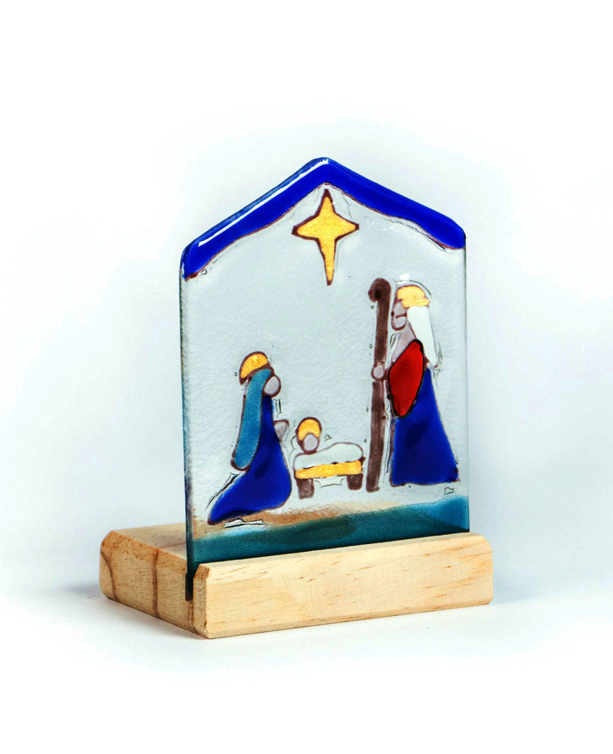 Teligth Nativity Scene