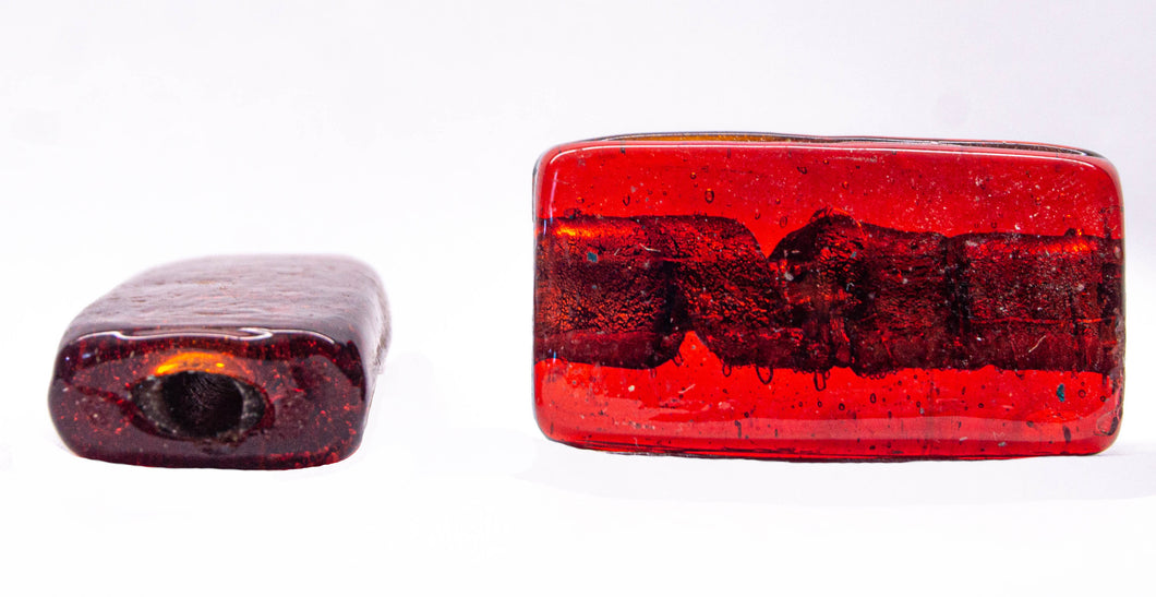 Rectangle Glass Beads