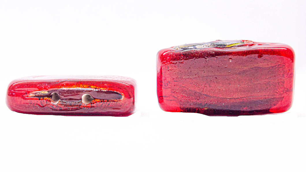 Side Rectangle Glass Beads