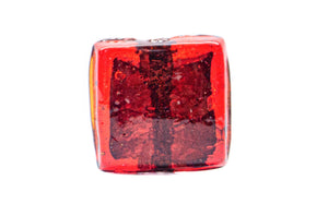 Big Square Glass Beads