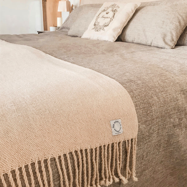 Manta Alpaca Camel Light Beige