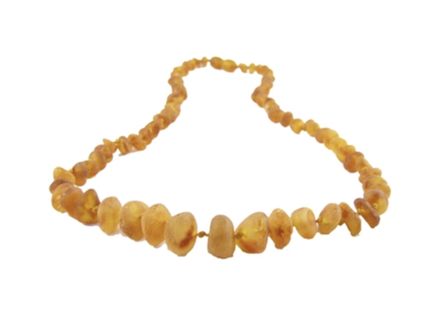Baltic Amber Necklace- Raw Cognac - Molly Pop Boutique