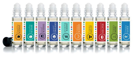 Essential Oil Roller Bottles- Kid Blends 15ml - Molly Pop Boutique