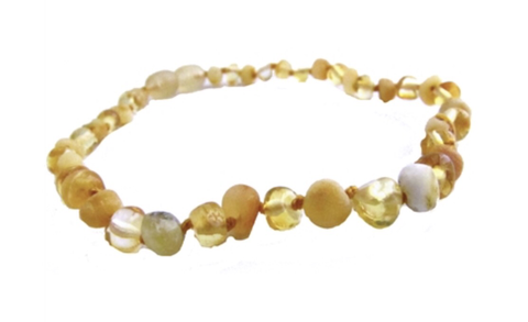 Baltis Amber Necklace- Raw Milk Lemon - Molly Pop Boutique