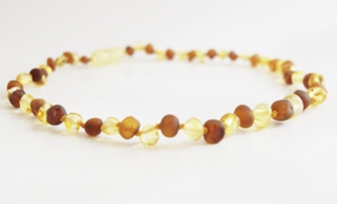 Baltic Amber Necklace- Lemon Cognac - Molly Pop Boutique