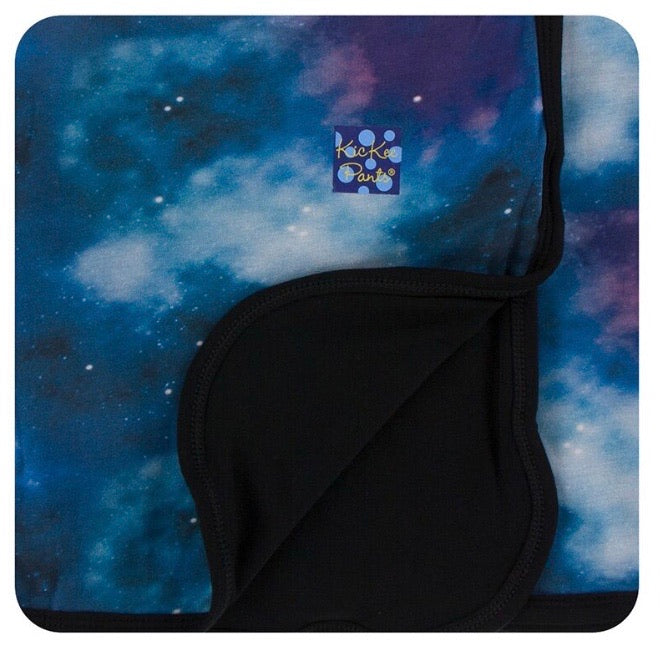 Kickee Pants Stroller Blanket - Wine Grapes Galaxy - Molly Pop Boutique