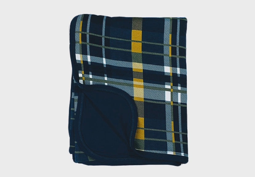 Kozi & Co Blanket - Plaid - Molly Pop Boutique
