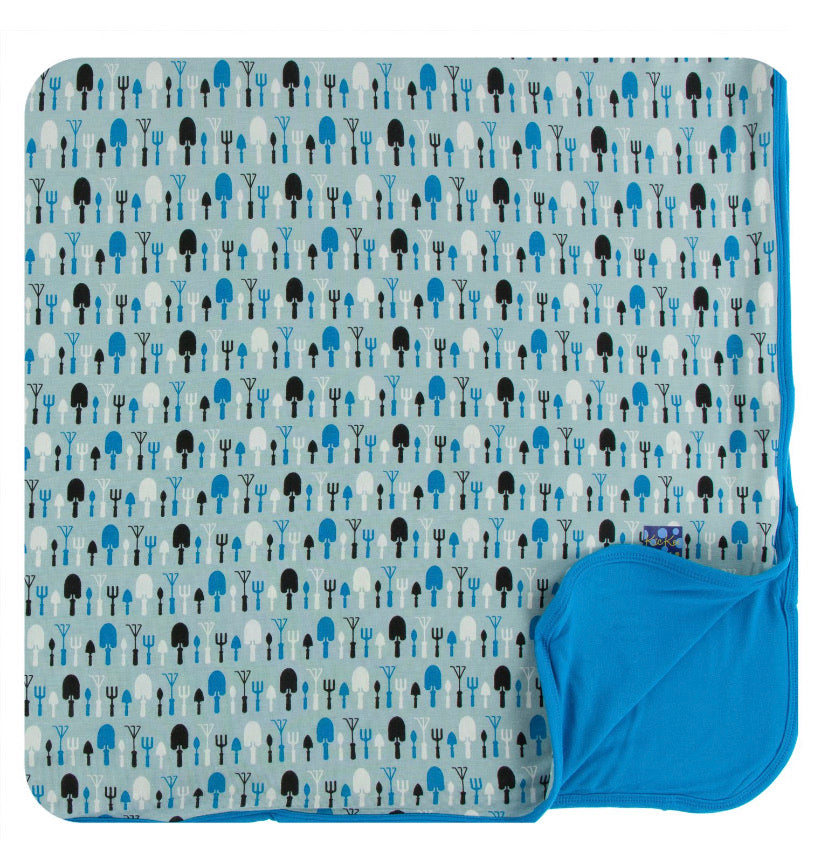 Kickee Pants Toddler Blanket - Jade Garden Tools