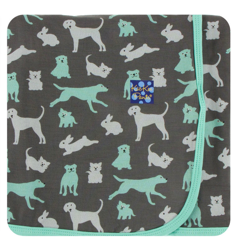 Pants Swaddle - Stone Domestic Animals