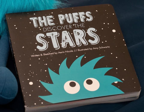 Kickee Pants Book - The Puffs Discover the Stars - Molly Pop Boutique