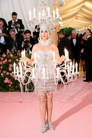 Katy Perry at Met Gala in Moschino