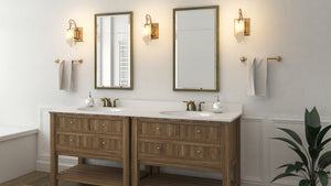 Varaluz Soho 126B01HO Bath Fixture in Bathroom Setting