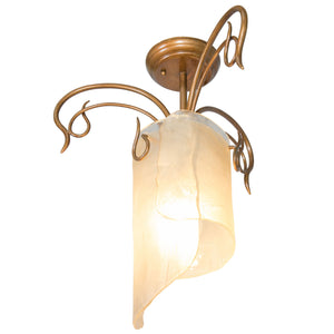 Soho 126S01HO 1-Lt Ceiling Light - Hammered Ore