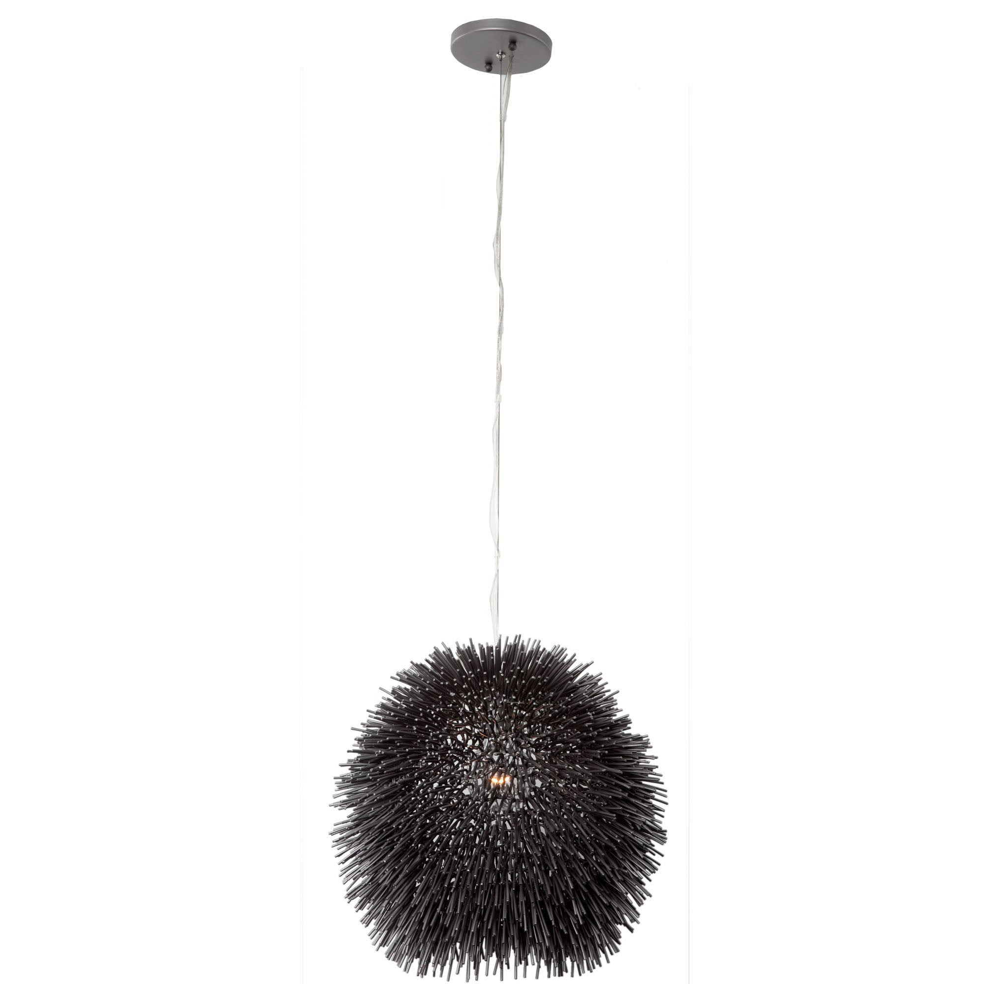 pendant black ivory distressed pontoise light pin uttermost metal mini